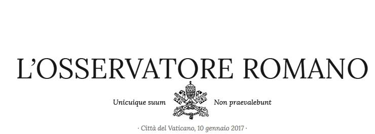 El periódico del Vaticano presenta una nueva edición semanal