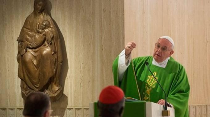 Papa Francisco: Ojalá seamos capaces de llorar por nuestros pecados