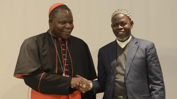 Cardenal Nzapalainga y el imán de Bangui