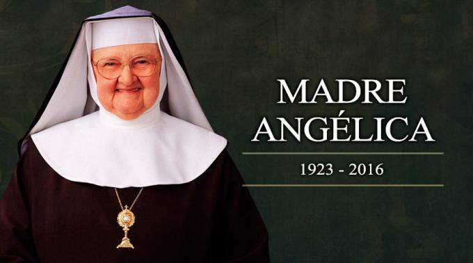 Hoy hace un año la Madre Angélica, Fundadora de EWTN, partió a la Casa del Padre