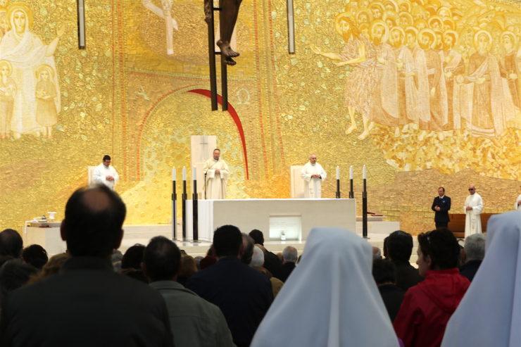 Fátima: agradecen en el 4º aniversario del pontificado, el don que Francisco representa para la Iglesia