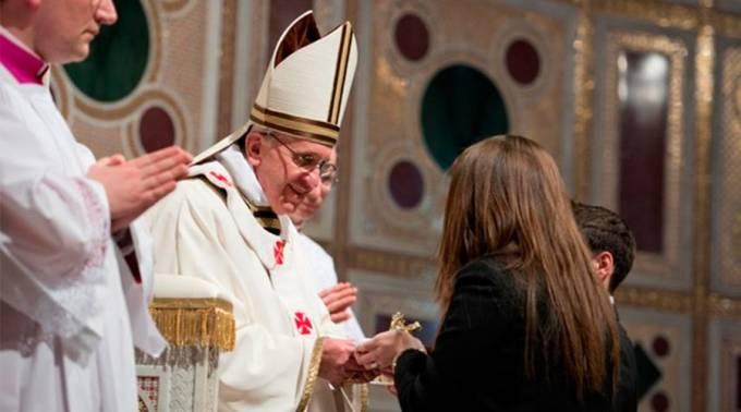 Hoy se cumplen 4 años desde que el Papa Francisco tomó posesión como Obispo de Roma