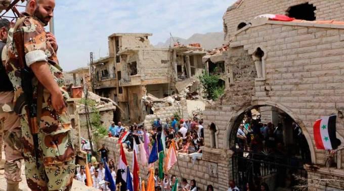 Tras 6 años esta ciudad de Siria vuelve a celebrar la Eucaristía