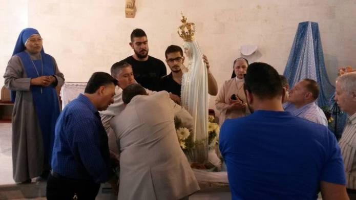 Signo de esperanza en Siria: consagran la ciudad de Alepo a la Virgen de Fátima