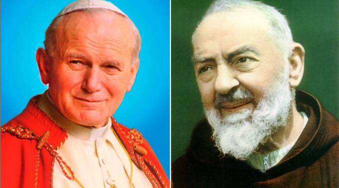 Estados Unidos: las reliquias de San Juan Pablo II y el Padre Pío llegan a Florida