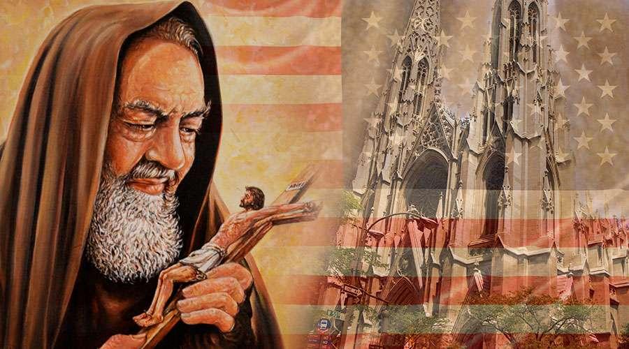 Continúa la gira de las reliquias del Santo Padre Pío de Pietrelcina en Estados Unidos
