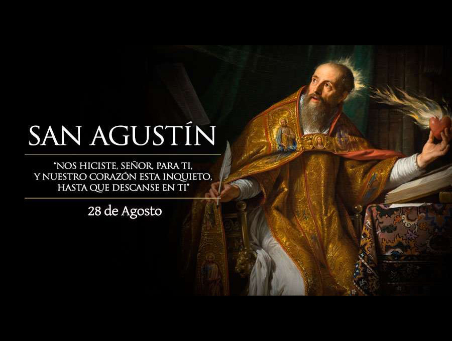 """San Agustín de Hipona, doctor de la Iglesia y """"patrón de los que buscan a Dios"""""""