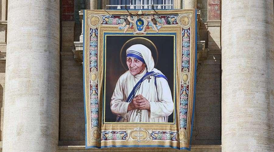 Hoy hace un año el Papa Francisco canonizó a Santa Teresa de Calcuta