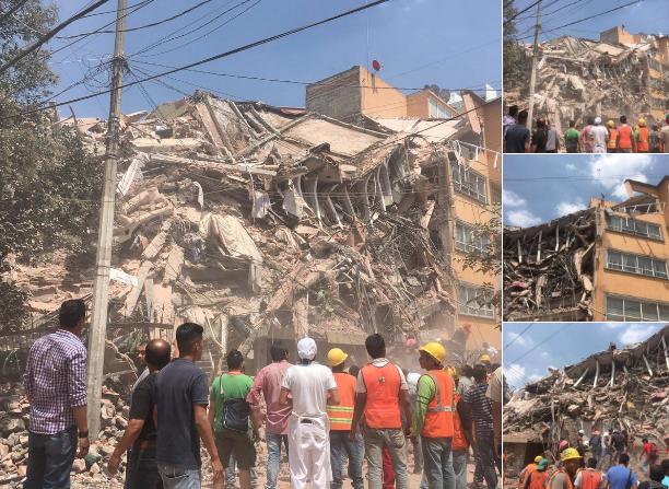 El Terremoto en México deja más de 200 muertos: Los Obispos piden oraciones