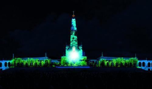 Un gran espectáculo de luces multimedia, clausurarán en Fátima el Centenario de las Apariciones