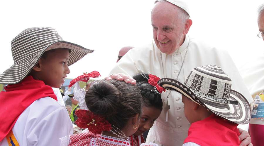Los 10 gestos que marcaron la visita del Papa Francisco a Colombia