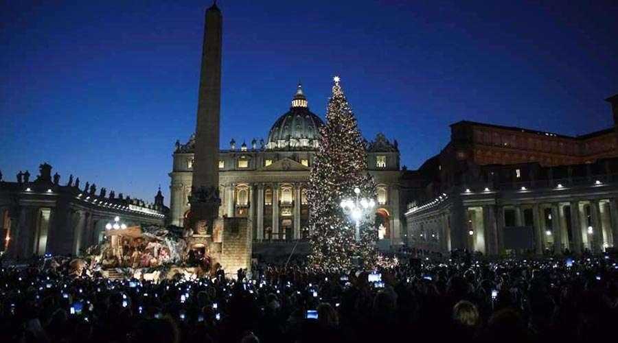 Así serán el pesebre y el árbol de Navidad que este año adornarán el Vaticano