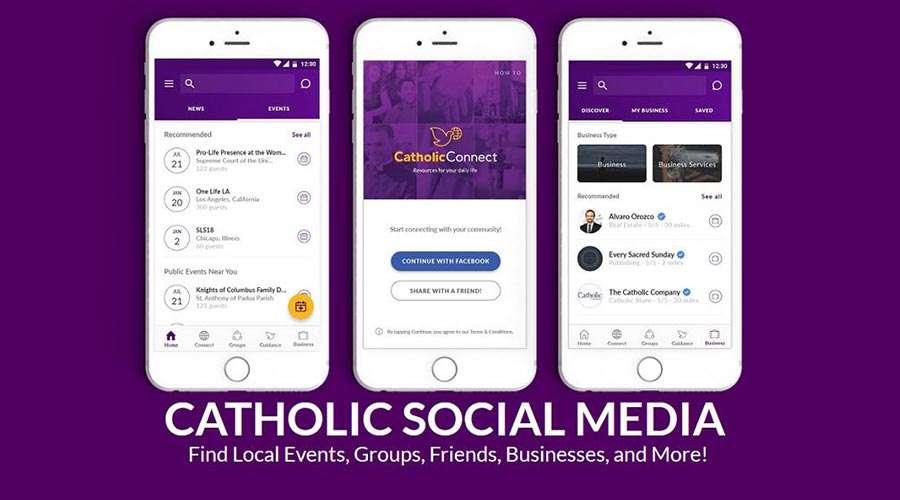 Anuncian una nueva aplicación que conectará a los católicos en todo el mundo