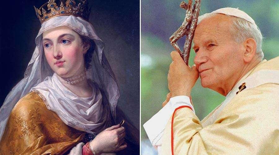 Así agradeció San Juan Pablo II a Santa Eduviges su elección como Papa