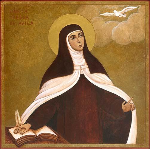 """Lectura espiritual del poema """"Nada te turbe"""" de Santa Teresa de Jesús"""