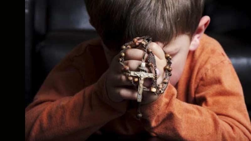 Resultado de imagen de niño rosario