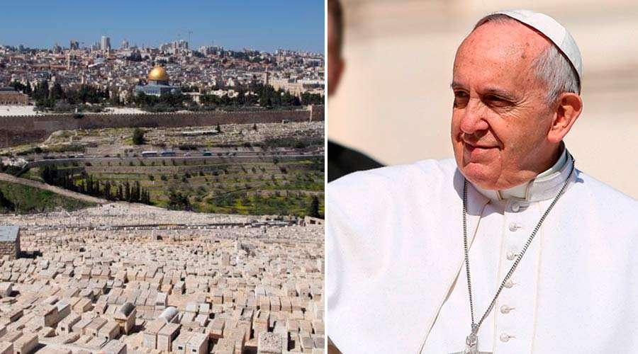 Llamado del Papa a la paz en Tierra Santa: Que se respete su identidad como Ciudad Santa