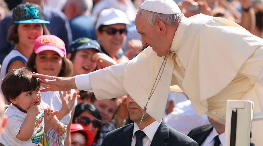 El Papa Francisco dedicó estas palabras de agradecimiento a padres y madres