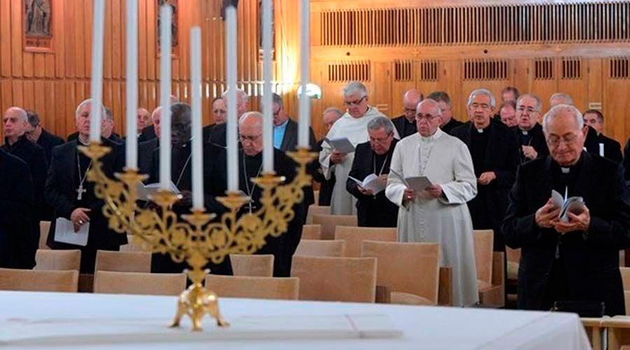 Meditación del retiro de Cuaresma del Papa: Así ayudan las lágrimas a llegar a Dios