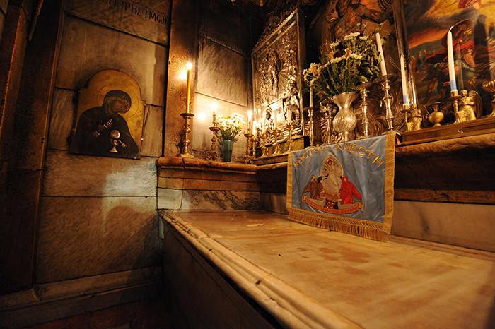 Reabren la iglesia del Santo Sepulcro en Tierra Santa