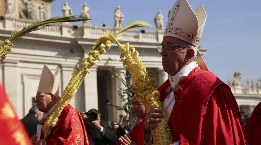 Semana Santa con el Papa Francisco: Estas son las celebraciones que presidirá