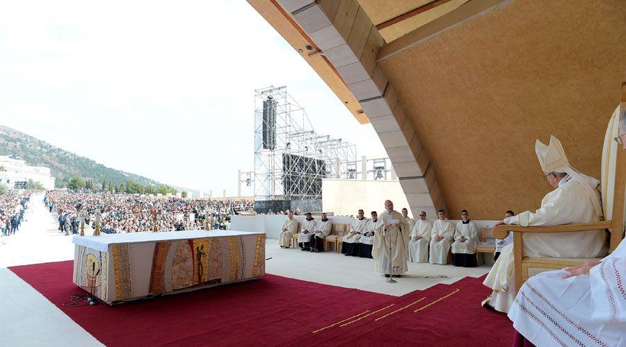 El Papa compara la cultura del descarte con las prácticas espartanas más crueles