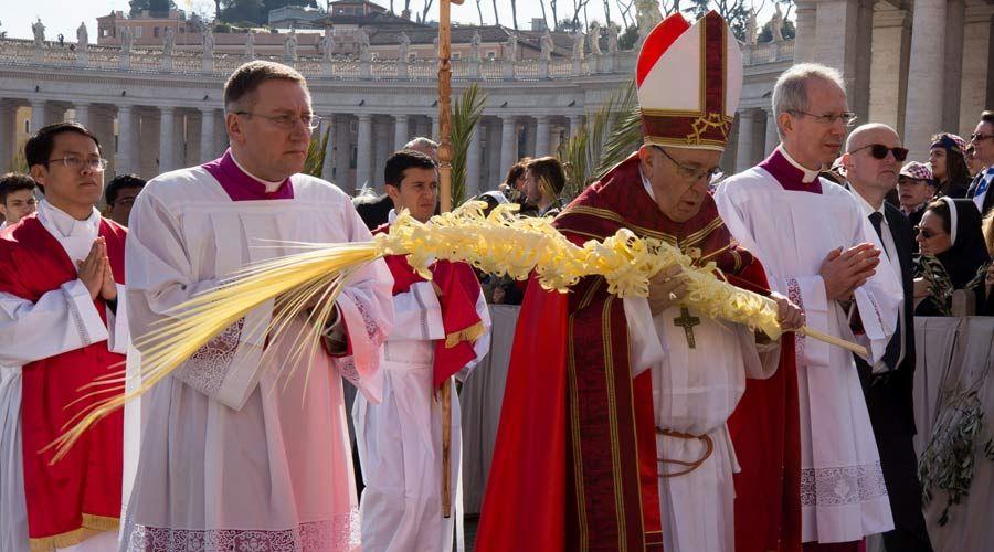 Homilía del Papa Francisco en el Domingo de Ramos