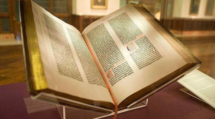 ¿Sabías que la Biblia no fue el primer libro impreso por Gutenberg?