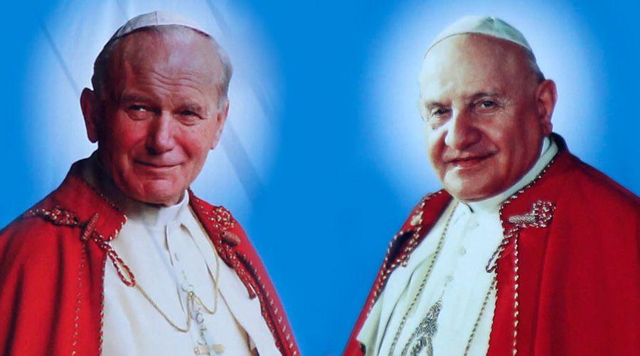 Celebramos 4 años de la canonización de San Juan Pablo II y San Juan XXIII