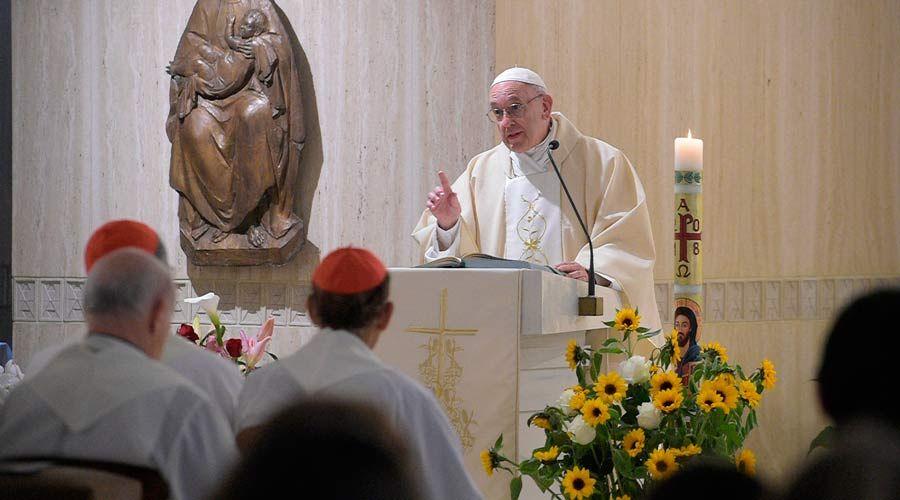 El Papa Francisco invita a luchar contra el demonio y pedir discernimiento