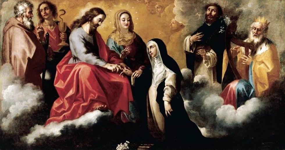 La oración a Santa Catalina de Siena que te acerca al perdón