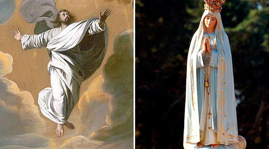 ¿Este 13 de mayo celebraremos la Ascensión del Señor o a la Virgen de Fátima?