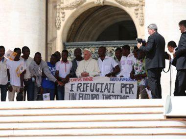 PapaFranciscoRefugiados
