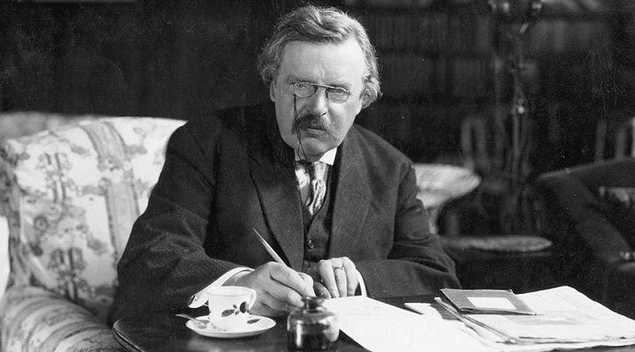 Conoce 7 datos sobre el brillante escritor y apologeta G.K. Chesterton
