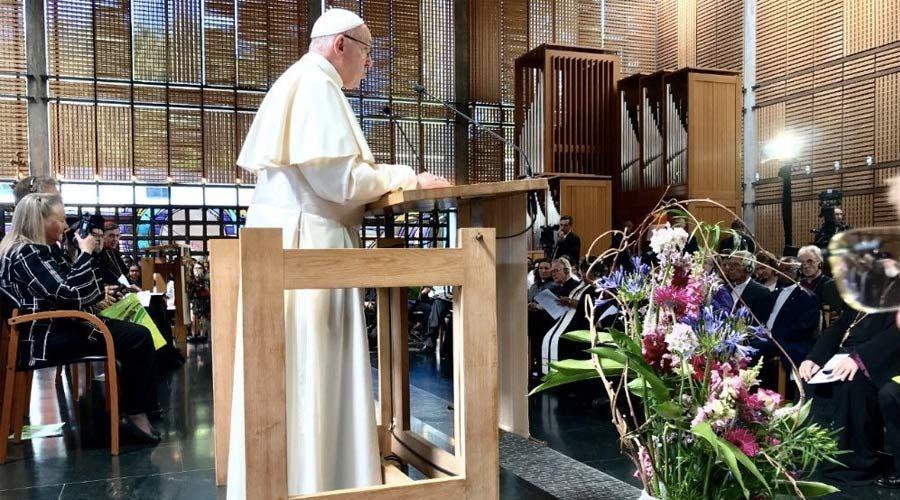 Discurso del Papa Francisco durante la oración ecuménica en su visita a Ginebra