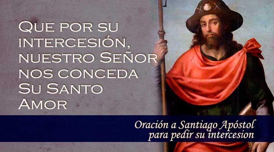 Oración a Santiago Apóstol para pedir su intercesión
