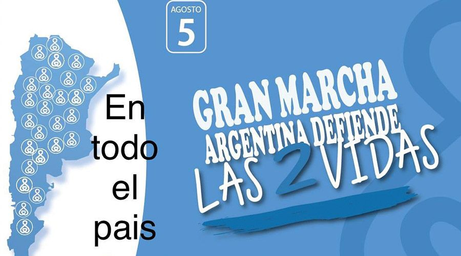 Estas son las marchas provida para este fin de semana en toda Argentina