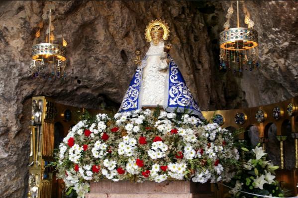 Advocaciones Marianas Virgen De Covadonga Mater Mundi Tv