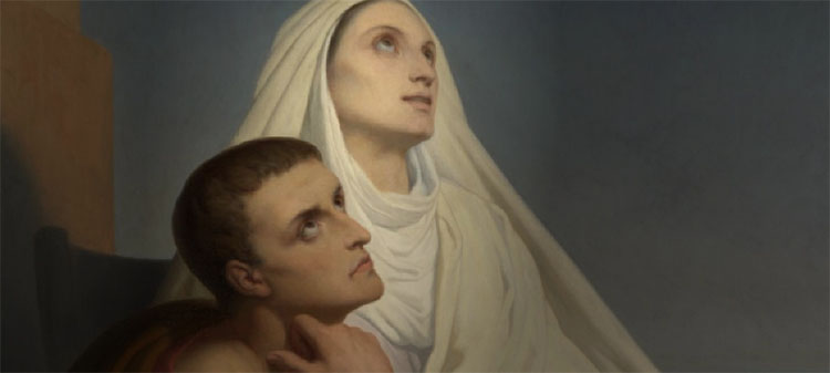 Oración a Santa Mónica, madre de San Agustín