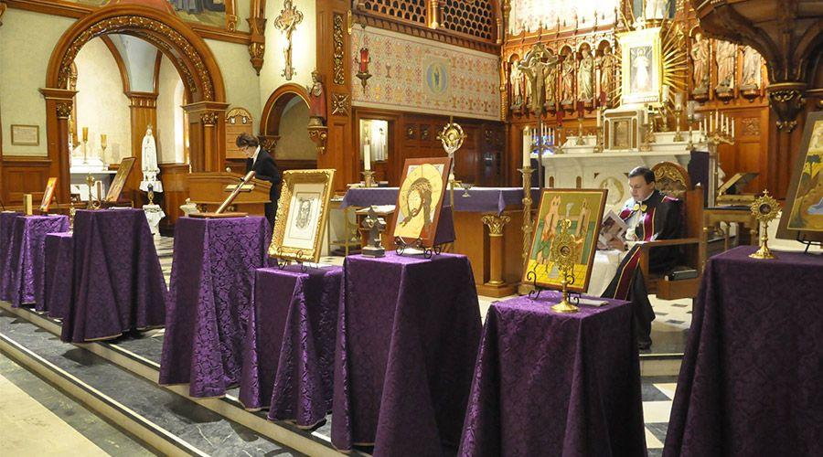 8 reliquias de la Pasión de Cristo inician gira en Estados Unidos