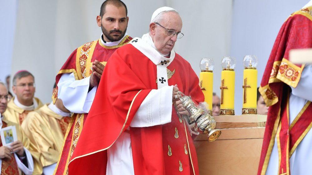 Homilía del Papa Francisco en la Misa de la Plaza de la Libertad en Tallin, Estonia