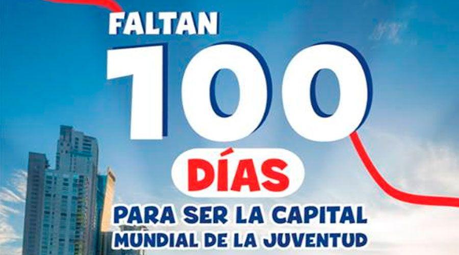 ¡Así puedes contar cómo te preparas para la JMJ Panamá a menos de 100 días!