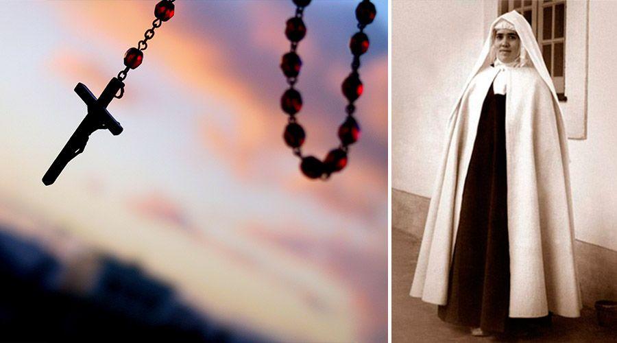 Las razones de Sor Lucía de Fátima para no dejar de rezar el Rosario a diario