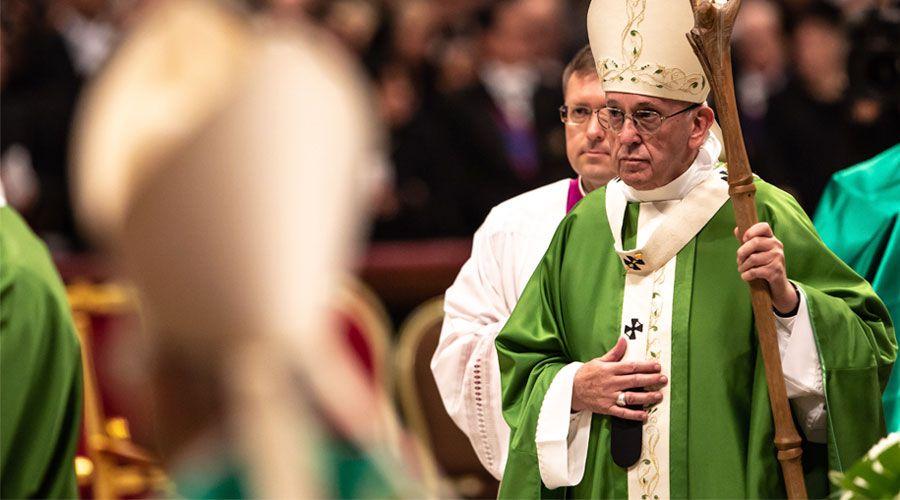 Homilía del Papa Francisco en la Misa de clausura del Sínodo de los Obispos
