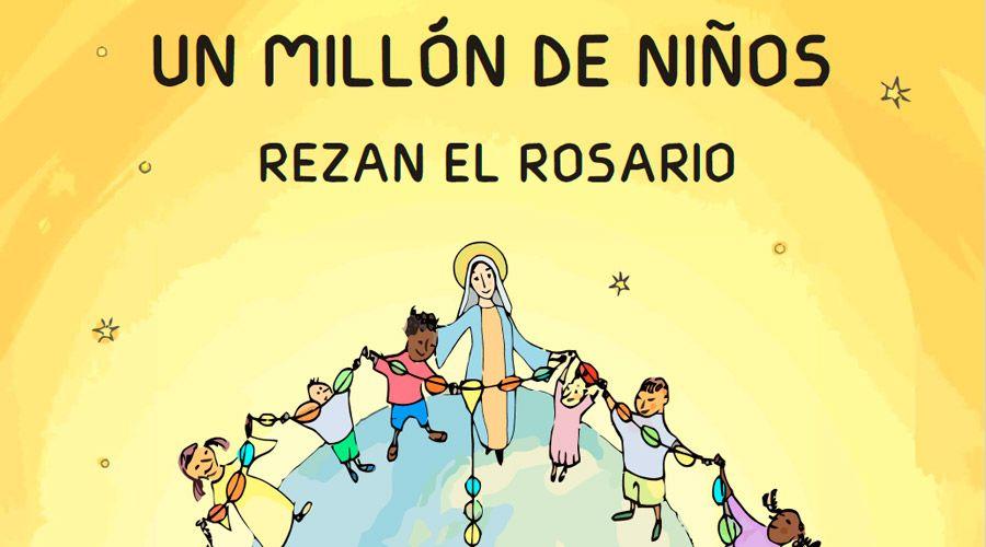 """Ayuda a la Iglesia Necesitada lanza campaña """"Un millón de niños rezando el Rosario"""""""