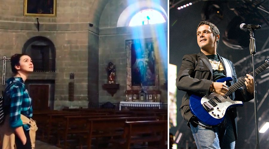 Alejandro Sanz viraliza conmovedor himno a la Virgen grabado en iglesia de España