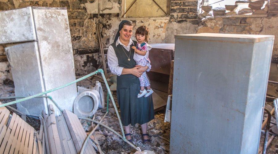 """Cristianos en Alepo: """"Queremos comenzar una nueva vida de alegría"""""""