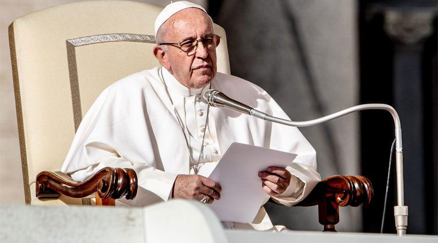 Papa Francisco: Si sobre la tierra hay hambre, no es por falta de comida
