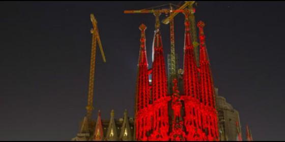 La Sagrada Familia se iluminará de rojo por la libertad religiosa en el mundo