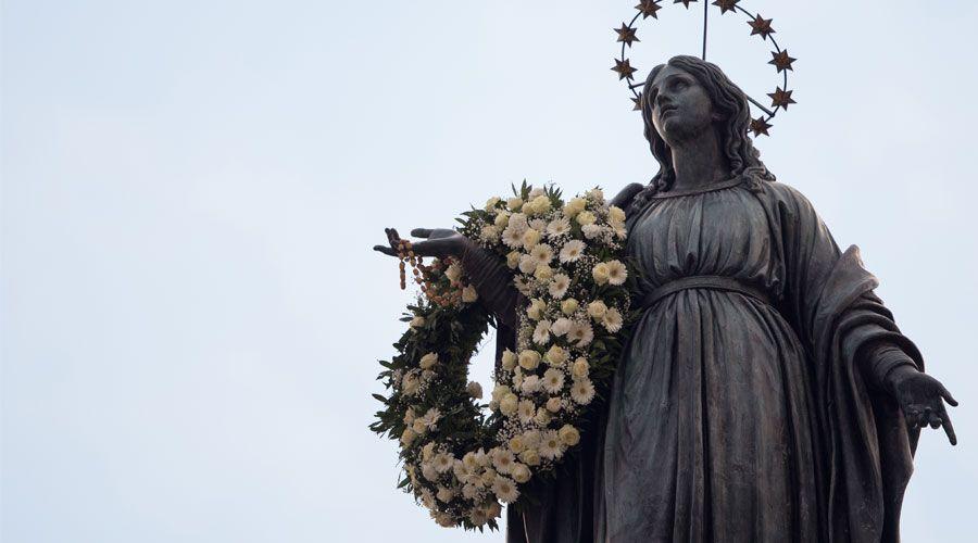 El Papa Francisco presidirá el homenaje a la Inmaculada en la Plaza de España de Roma